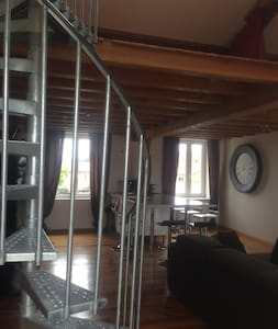Loft pour l'Euro 2016 (tarif nuitée/4personnes) - Grigny