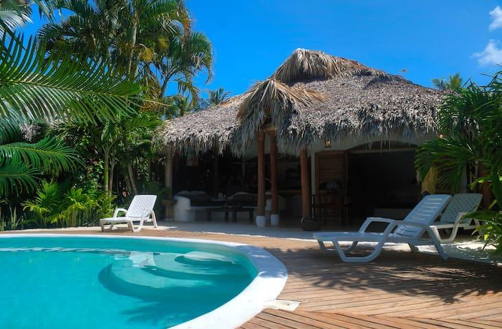 villa colette à 80 mètres de la plage ballenas