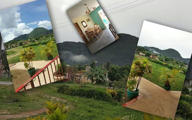 Villa Robe y María (2 Habitaciones) Viñales