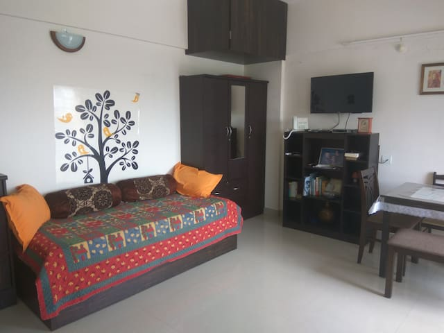 Studio apartment in Amanora Park town