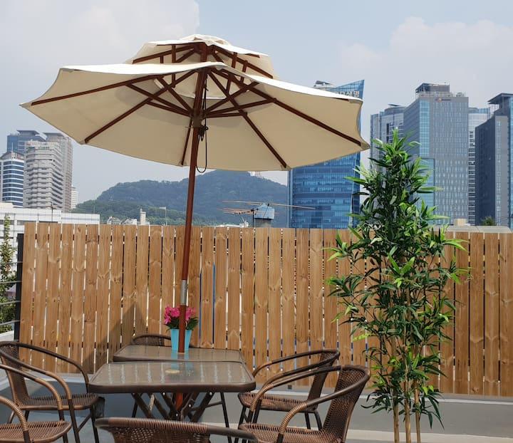 Let's go together. 3min  Seoul st. free food