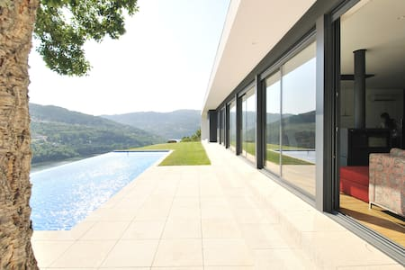 Luxury Villa Stunning River View 1 hour from Porto - Casa