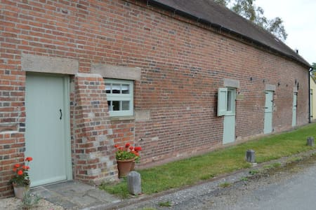 Luxury self catering barn 2 persons - Ashbourne