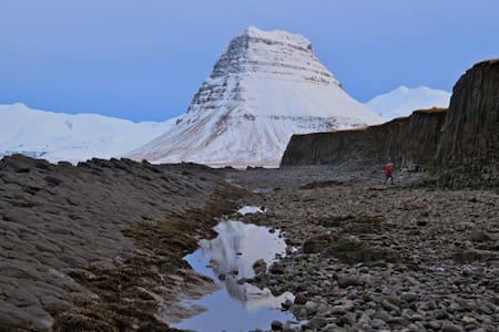 Berg 1 . Horse farm life - Grundarfjörður