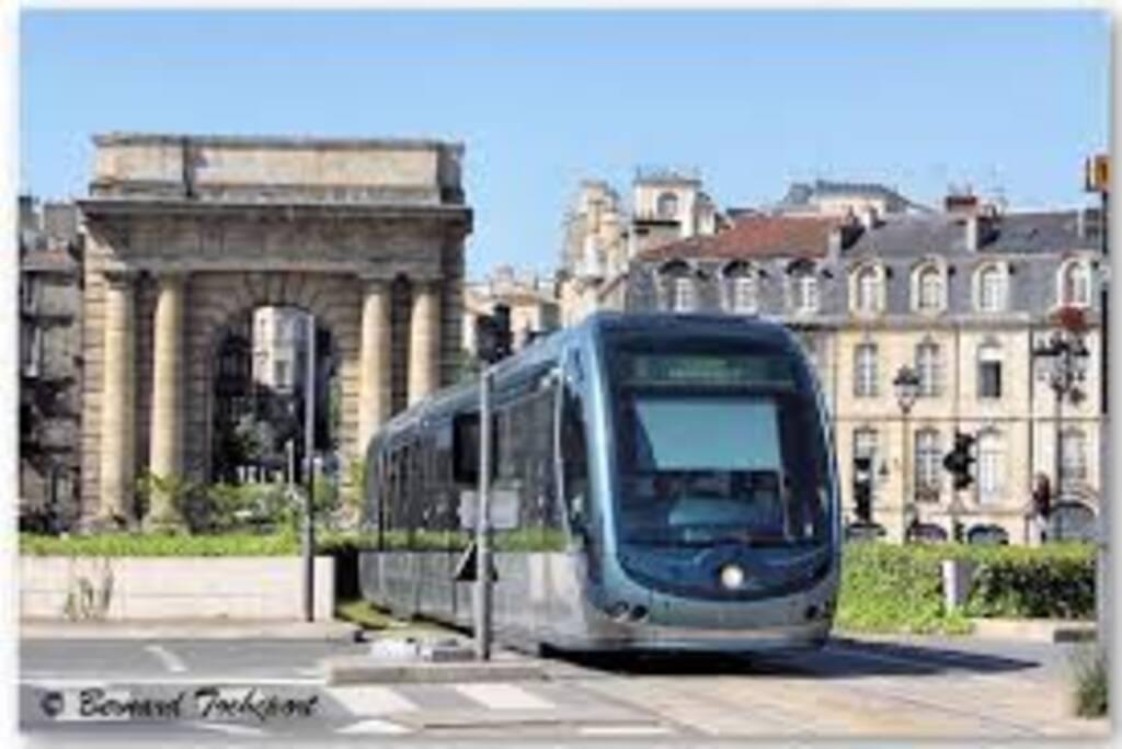 Le tram A et C (4 arrêts jusqu'à l'appartement. en 5 min) se trouve à 30 m.