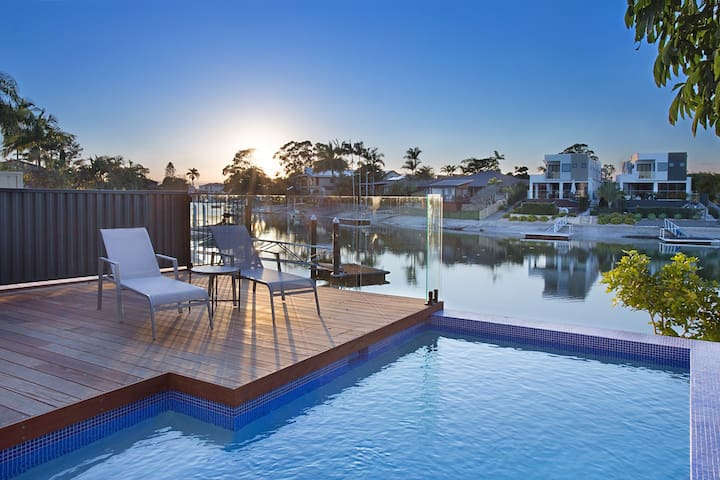 Enjoy a day by the pool, extending from the large outdoor alfresco entertaining area