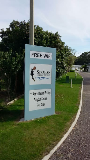 Managed by the Strahan Holiday Retreat