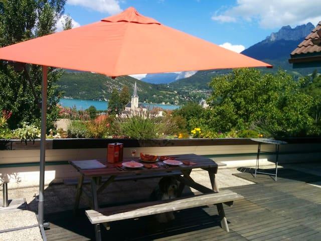 Annecy (Duingt) - Un coin de paradis sur le  lac