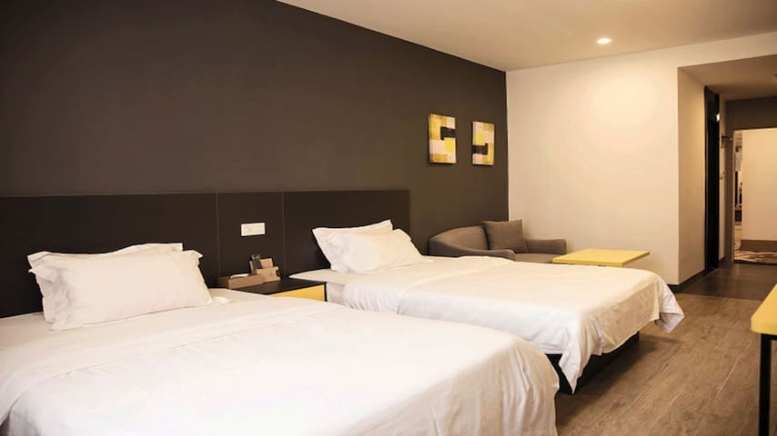 从化欣荣宏国际商贸城A+标准双床酒店公寓 - Guangzhou Shi - Apartamento