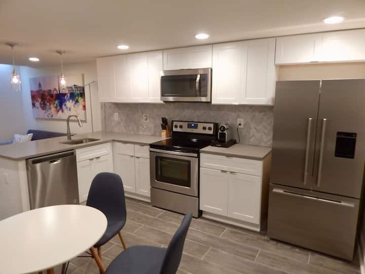 Dupont Circle 2 BR, Fully Renovated Master Kitchen