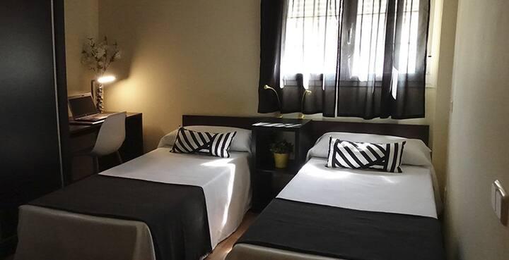 Habitación doble dos camas Hotel On Borox