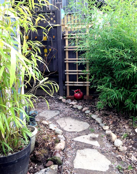 A secret pathway to your space.