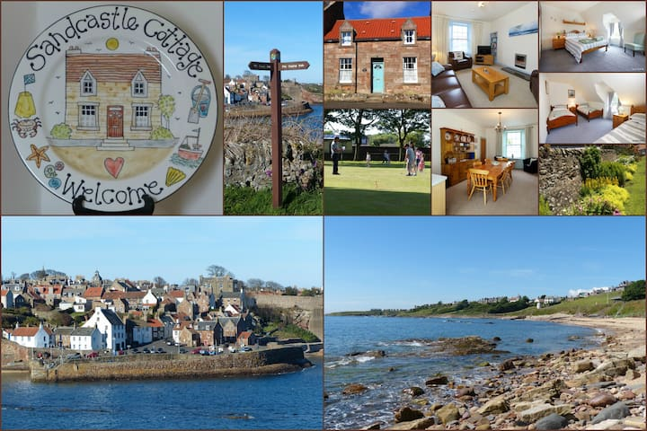Holiday Cottage near St Andrews in East Neuk Fife - Crail - Casa