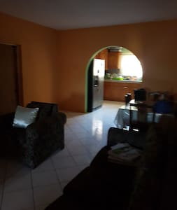 its spacious and clean.  newly painted house