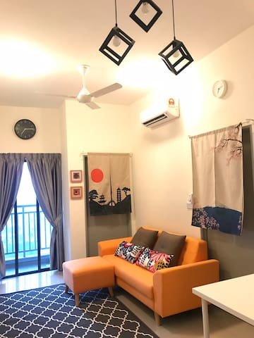 Japanese deco inspired @ Ayuman Suites, Gombak