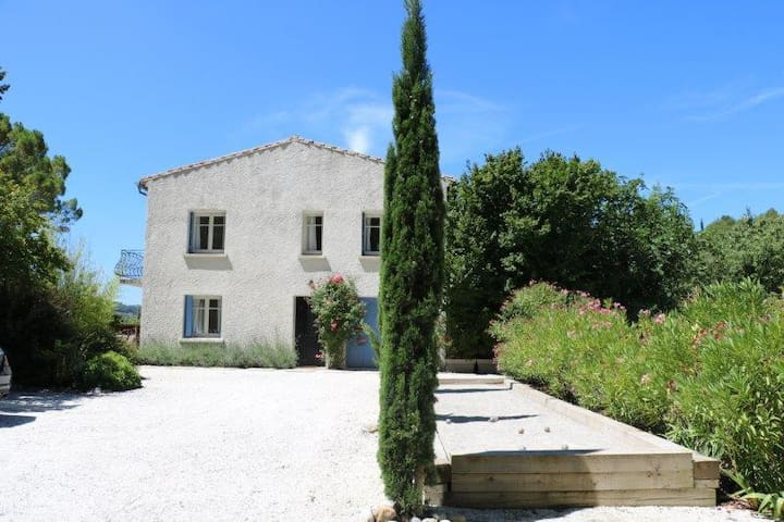 House in Languedoc with swimming pool