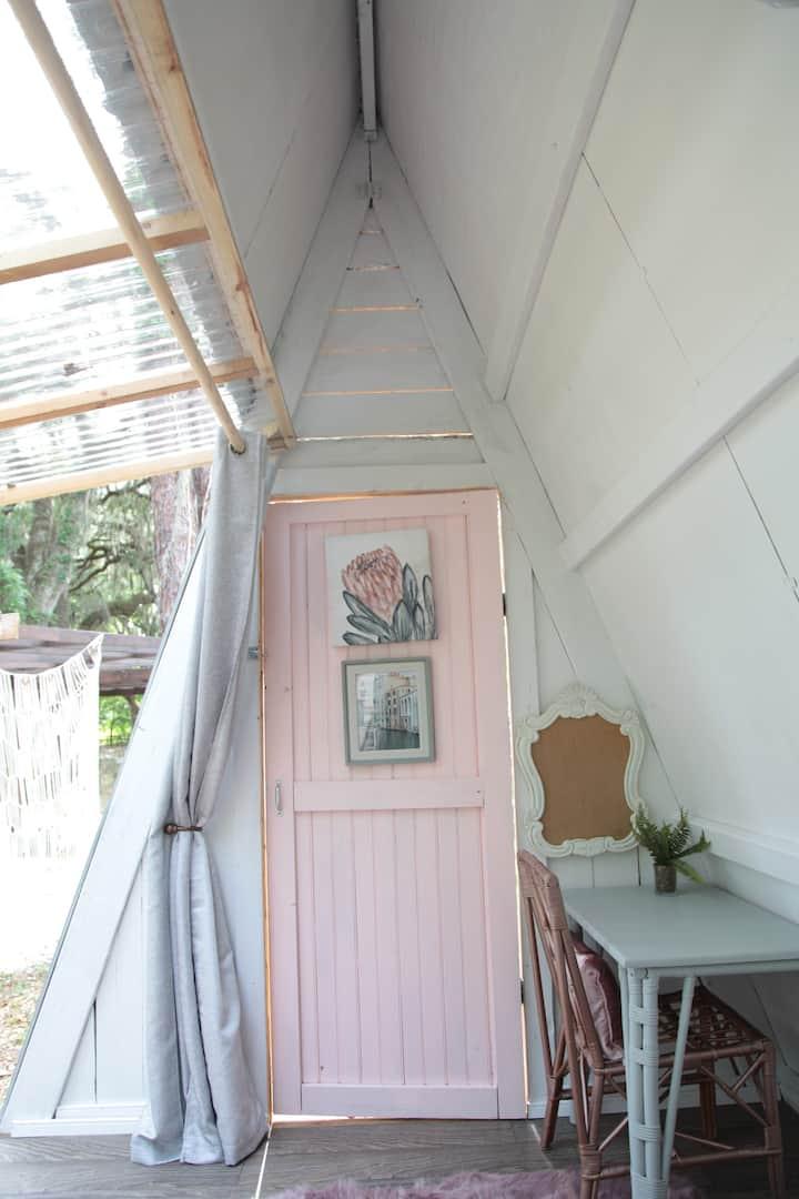 Tiny Cabin on Farm #3 (With AC)