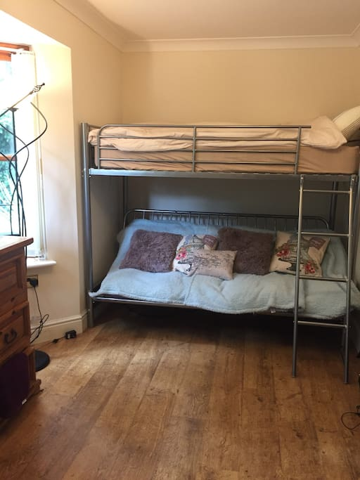 Triple Bunk bed 2 as sofa