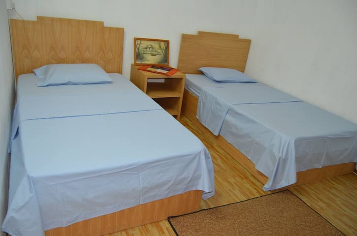 2x Single Bed in Guest House - Souillac