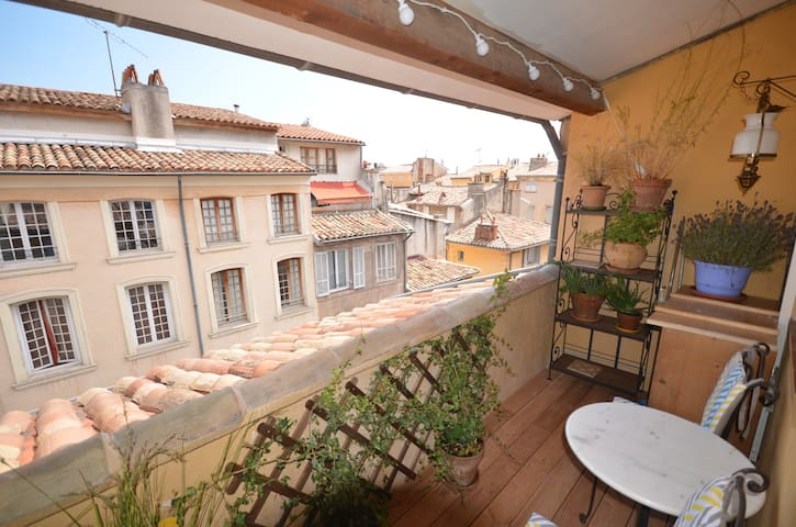 Duplex balcone /centro storico /clim