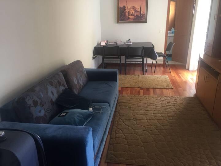 Um suite + uma casa + garagem + ambiente  familiar