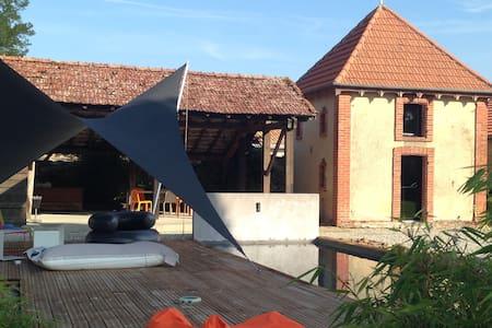 MAISON STANDING MODERNE PISCINE ET PARC PRIVES - Soustons - Dom