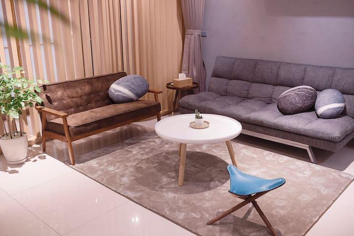 『礁溪溫泉.日暖公寓』全新打造日式設計溫泉小宅(2-6人) - Jiaoxi Township - Apartamento