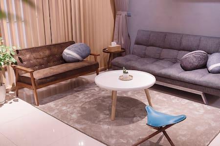 『礁溪溫泉.日暖公寓』全新打造日式設計溫泉小宅(2-6人) - Jiaoxi Township - Lejlighed