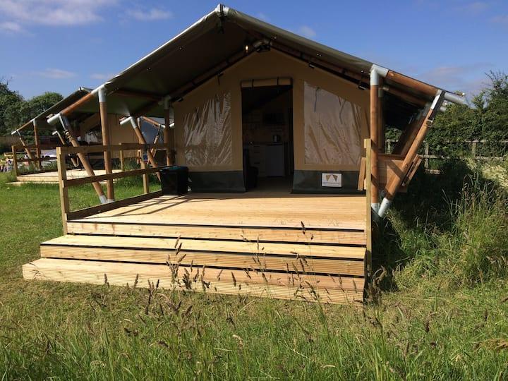 """LAUREL"" Gipping Valley Glamping Safari Tent"