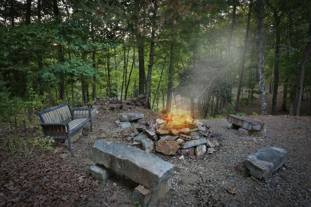 Cozy firepit