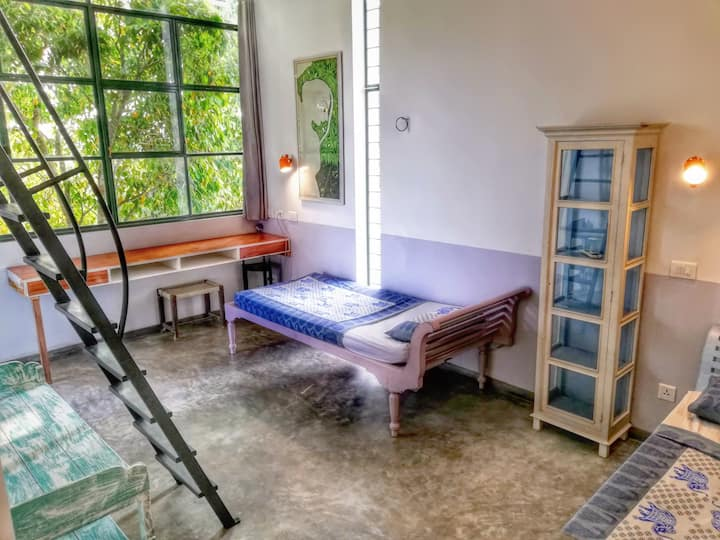 Modern Twins Room in amazing Villa