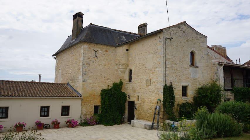 Athos, Le logis de la Brossadière - Taillebourg - 아파트