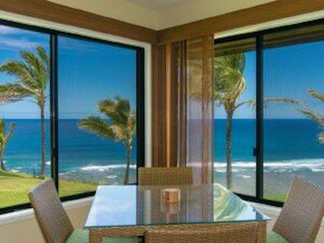 Amazing Ocean Front - 'Hale Honu' - Princeville - Apartment