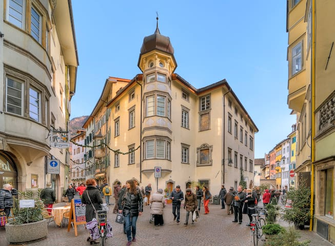 Room in the center of Bolzano+PARKING and BIKE - Bolzano - Daire