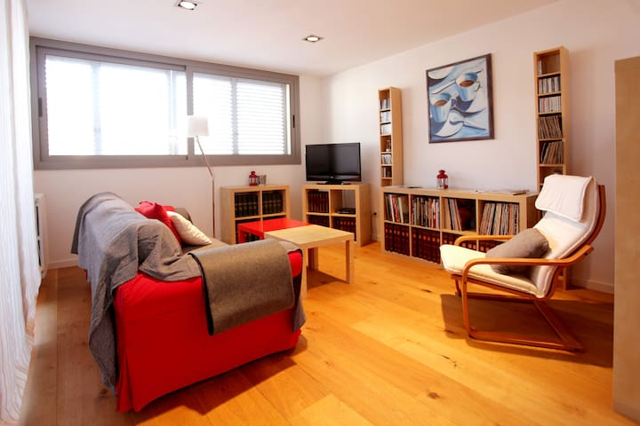 Nice & new apartment 20' Barcelona. KIDS friendly