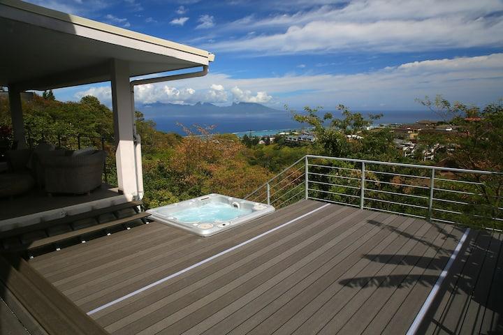 Ocean view & spa
