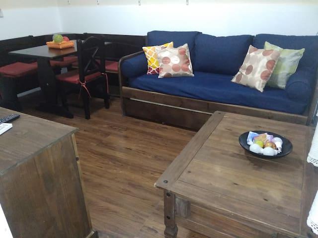 Apartamento  y barbacoa buceo