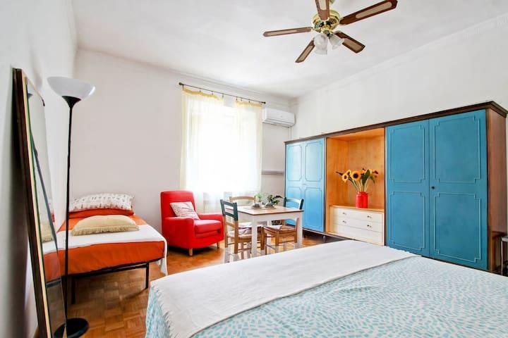 """Villa Borghese"" room - Spanish Steps +NETFLIX"