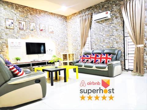 YY Simple Homestay 2 @ Legoland Fantastic (24 PAX)