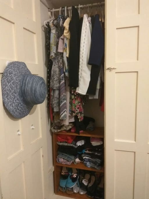 Attached wardrobe