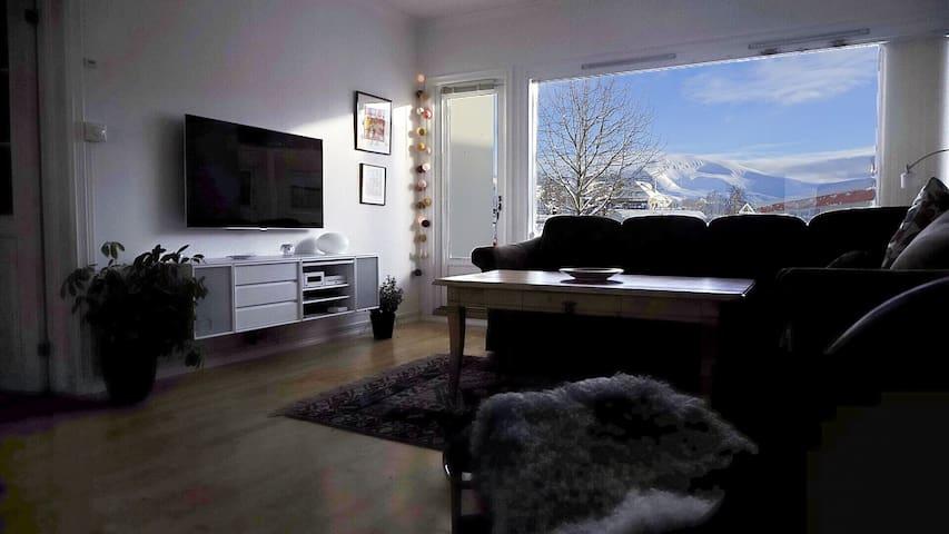 Amazing view over Tromsø