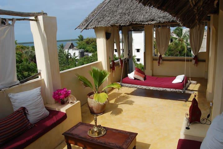 Panoramic Suite-Roof. La Joya Penthouse Paradise - Shela - Hus