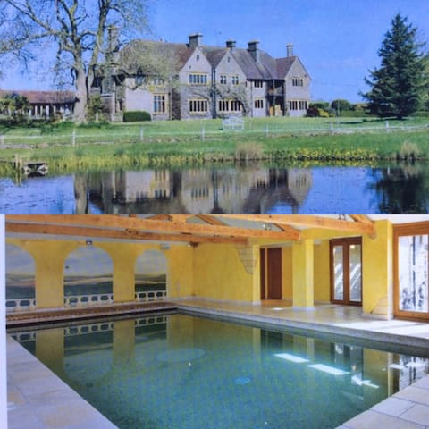 Large Edwardian House with Pool and Tennis Court
