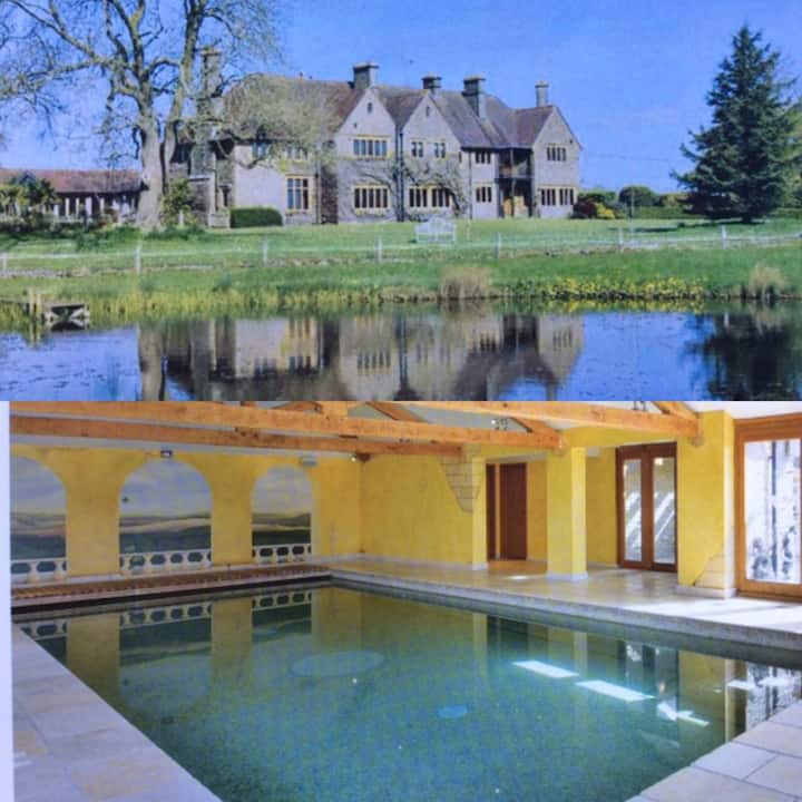Large Edwardian House, Indoor Pool,  Tennis Court