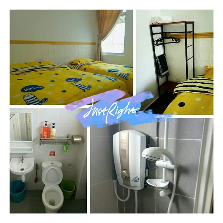 Room for 2+1 @ Cameron Highlands