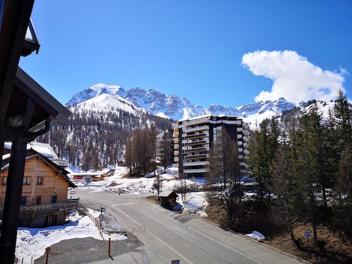 Vars les CLAUX 05560 Appt Montagne été/hiver 4/6P