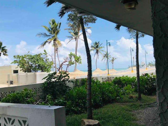 Studio Atlantic Ocean View, the HEART of San Juan