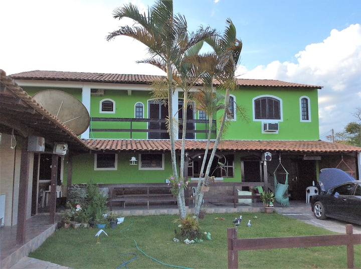 Casa confortável em Araruama com Ar condicionado