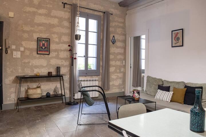 Bel appartement T2 au calme à deux pas du centre