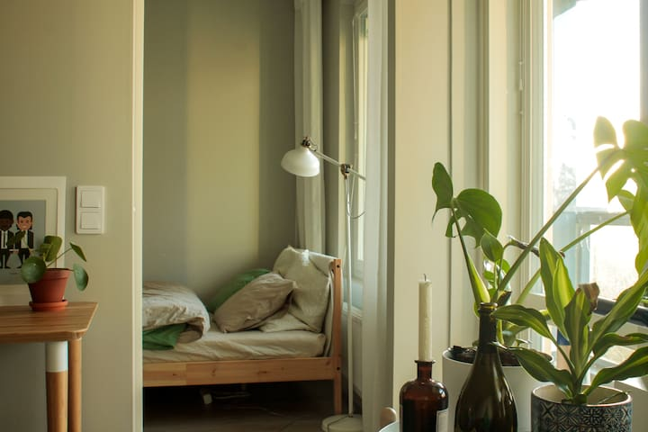 Green&Modern Room close to Helsinki Airport